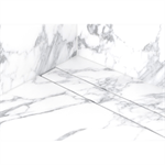 frameless linear shower drain - modulo stone