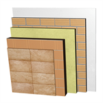 FC26-B1-b Double skin clay block façade with ventilated air cavity. RD+BC14+CV+AT+LH7+ENL