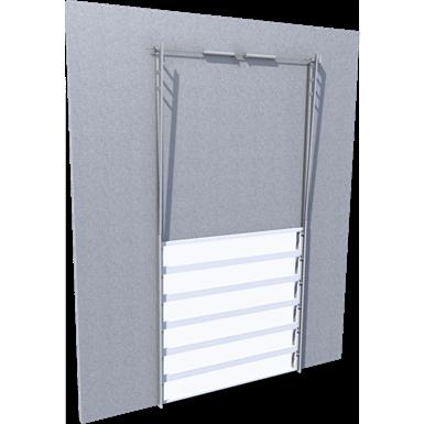 translucent door vertical lift line'r