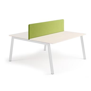 silencio - acoustic screen antibacterial for bench desk