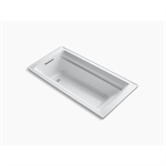"""archer® 72"""" x 36"""" drop-in bath with bask® heated surface and reversible drain"""