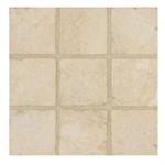 Arizona Tile Ankara 4x4 Inch Tumbled Travertine Tile