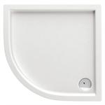 Minimal semicircular shower tray 90 cm