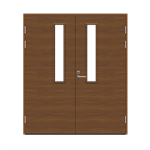 Exterior Door Function F2090 W22 Veneered Double