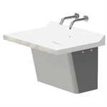 Z5003.01 Sundara™ Drift Handwashing System, Single Basin