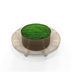 Radius Planter Divider Circle