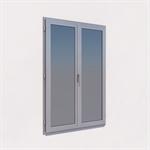 tilt-turn window 2 leaves - kalory'r