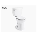 cimarron® comfort height® the complete solution® two-piece elongated 1.28 gpf toilet
