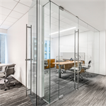 interior glass walls pure® series - slider_r14