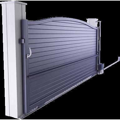 intimité line - cardiff sliding gate model