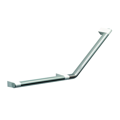 Cavere Chrome Grab rail, right  650x316, 135°