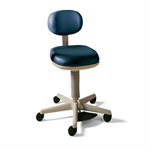 Midmark 427 Air Lift Physician Stool - Foot Operated