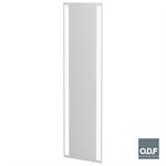 led garderoben leuchtspiegel mit 2 vertikalen lichtbanden und beschlagschutz 65 x 198cm
