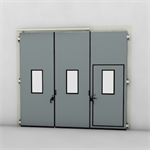 ASSA ABLOY FD2250P Folding Door (2+1)(1+2) Manual DLW 1870-3700mm DLH 1850-6000mm