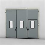 ASSA ABLOY FD2250P Folding Door (2+1)(1+2) Manual DLW 1870-3700mm DLH 1850-6000mm