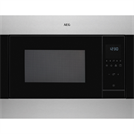 AEG BI Microwave Oven Stainless steel with antifingerprint 600 450