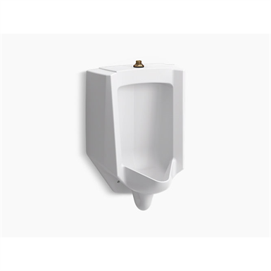 bardon™ high-efficiency urinal (heu), washdown, wall-hung, 0.125 gpf to 1.0 gpf, top spud
