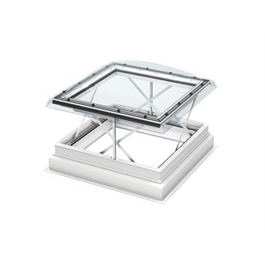 fenêtre-coupole exutoire de désenfumage électrique (csp)