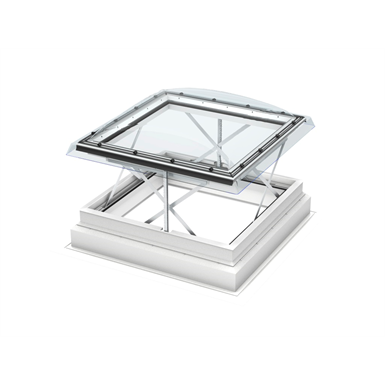 Smoke & Comfort Ventilation w. Dome Flat Roof Window - CSP ISD