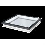 fixed glass rooflight w. flat glass cfu isu2093