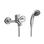 ARLAN Single lever bath/shower mixer with shower set