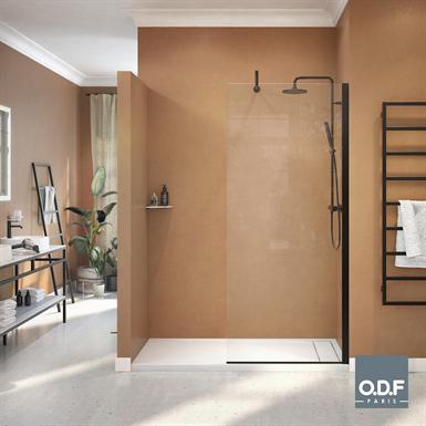 fixed shower screen azur