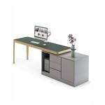 i-land – directional desk with storage unit