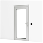 Entrance Door w/ Wall Reader