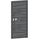 entrance door collection caractère granit