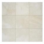 Arizona Tile Crema Marfil 6x6 Inch Tumbled Marble Tile