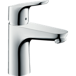 Focus Single lever basin mixer 100 with pop-up waste set 04371000