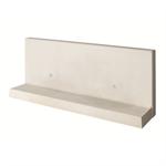 l-tec - length 199 cm  - surface fairface concrete