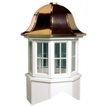 Arlington Series Windowed Cupola Is An Octagon With A Bell Style Roof