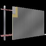 fassadenplatte sand verkleidung stahl steg pur pir verlegung v durchsetzende befestigungen