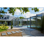 prestige full height pool enclosure