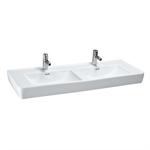 LAUFEN PRO Countertop double washbasin 1300 mm