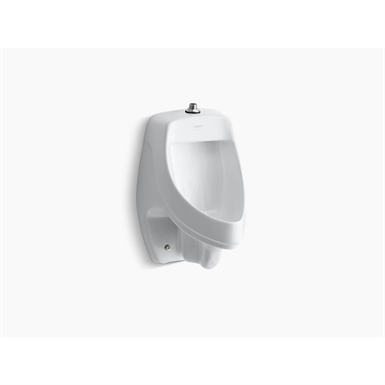 dexter™ siphon-jet wall-mount 0.5 or 1.0 gpf urinal with top spud