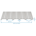 RoofDek D32S (Shallow Deck) - Structural decking for roofs