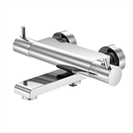 """series 100 exposed thermostatic mixer ½"""" for bathtub 100 3170"""