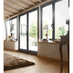 single pvc french door