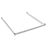 Wire and Solid Shelving Components and Accessories