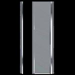 bora 90 - paroi de douche - porte pivotante sans seuil