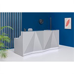 RECEPTION DESK ALPA straight