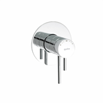 Cosmo Concealed thermostatic shower mixer.