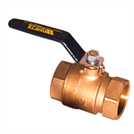 2-Piece, Full Port, Lead Free* Bronze Ball Valves - LFFBV