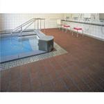 トッパーコルク BA-13 浴室フロア用 コルクタイル(バスコ) 無塗装
