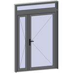grand trafic doors - double inward opening with transom