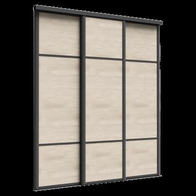 façade emotion 3 portes coulissantes