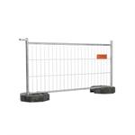 cisabac clôture mobile grillagée cmgr 120
