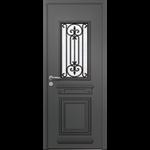 porte d'entrée en aluminium passage – modèle nobel 1